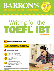 Barron's Writing for the TOEFL iBT with Audio CD