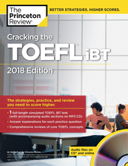 Cracking the TOEFL iBT with Audio Exercises on CD