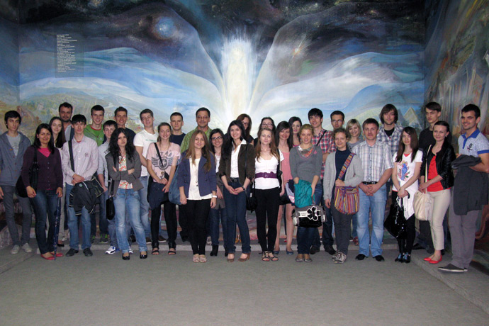 At the National Museum of Ethnography and Natural History of the Republic of Moldova. May 2012.