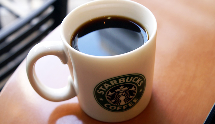 Starbucks Coffee.
